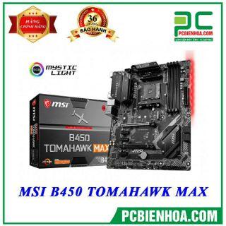 MAINBOARD MSI B450 TOMAHAWK MAX thumbnail