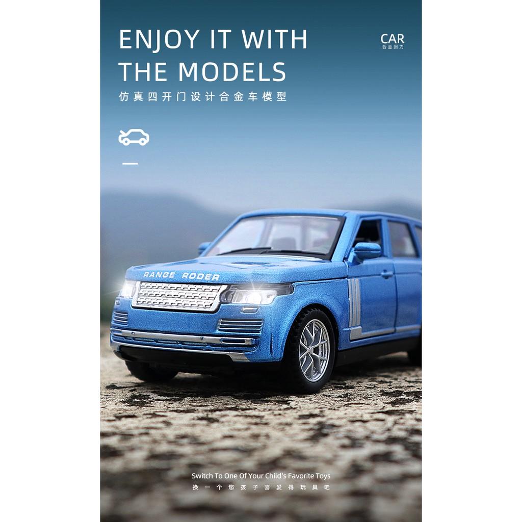 Mô Hình Xe Hơi Land Rover Range Rover Bằng Hợp Kim Đẹp Mắt Cao Cấp