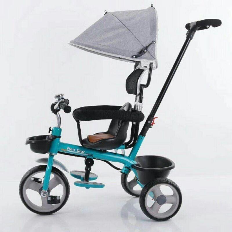 [Mã 267FMCGSALE giảm 8% đơn 500K] Xe đẩy 3 bánh có thể làm xe đạp cho bé