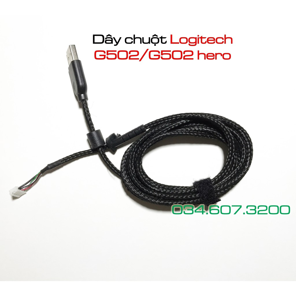 Dây chuột Logitech G502 và G502 Hero