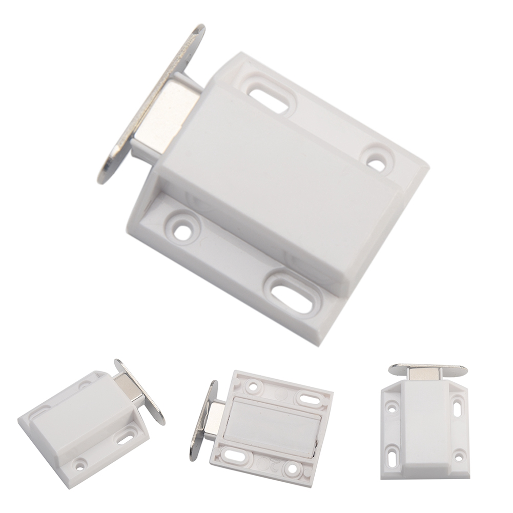 Push To Open cabinet catch Small Magnetic Door Catches Kitchen Cupboard Wardrobe Cabinet Latch Catch