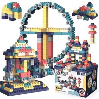 Bộ lắp ráp Lego giá rẻ Freeship Lego mobile Xếp Hình Nhật Bản, Lego city Hộp 520 Chi Tiết Cho Bé thumbnail