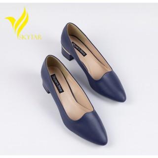 [Mã FASHION10KP giảm 10K đơn 50K] Skytar-giày cao gót công sở 3cm G23 thumbnail