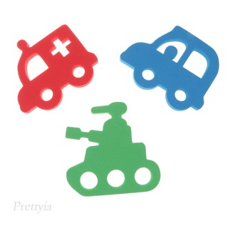 Soft EVA Baby Bath Puzzles Floating Bathing Funny Educational Toy Vehicle