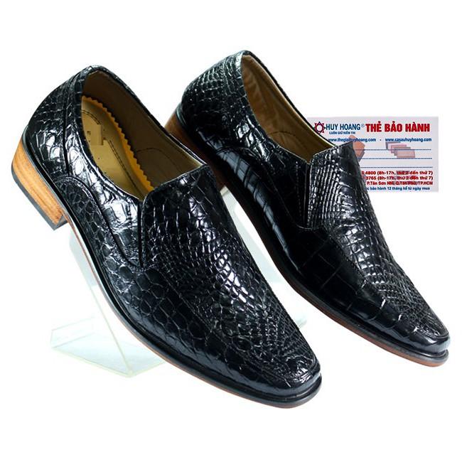 Giày nam da cá sấu màu đen HP7201 - 3302664 , 1141029624 , 322_1141029624 , 6999000 , Giay-nam-da-ca-sau-mau-den-HP7201-322_1141029624 , shopee.vn , Giày nam da cá sấu màu đen HP7201