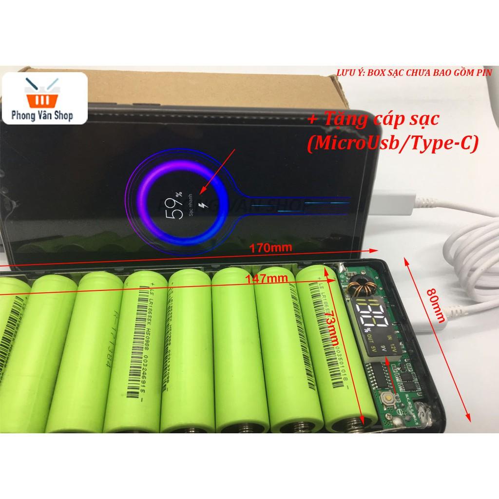 Box sạc dự phòng 8 cell 20000mah - pin 18650 - lipo   Nông Trại Vui Vẻ -  Shop