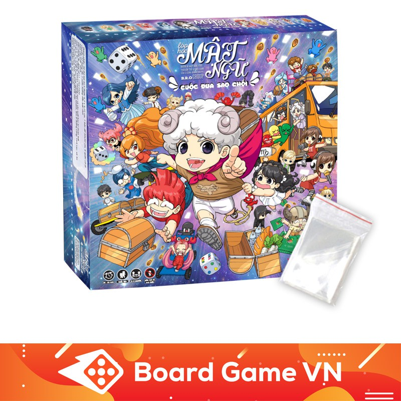 [Nhập TOYBGVN giảm 15%]Combo Board Game Lớp Học Mật Ngữ – Cuộc đua sao chổi và bộ Sleeves bọc bài (100 cái)