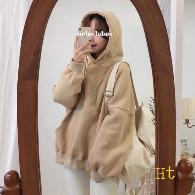 Áo hoodie nỉ trơn baisic HT12
