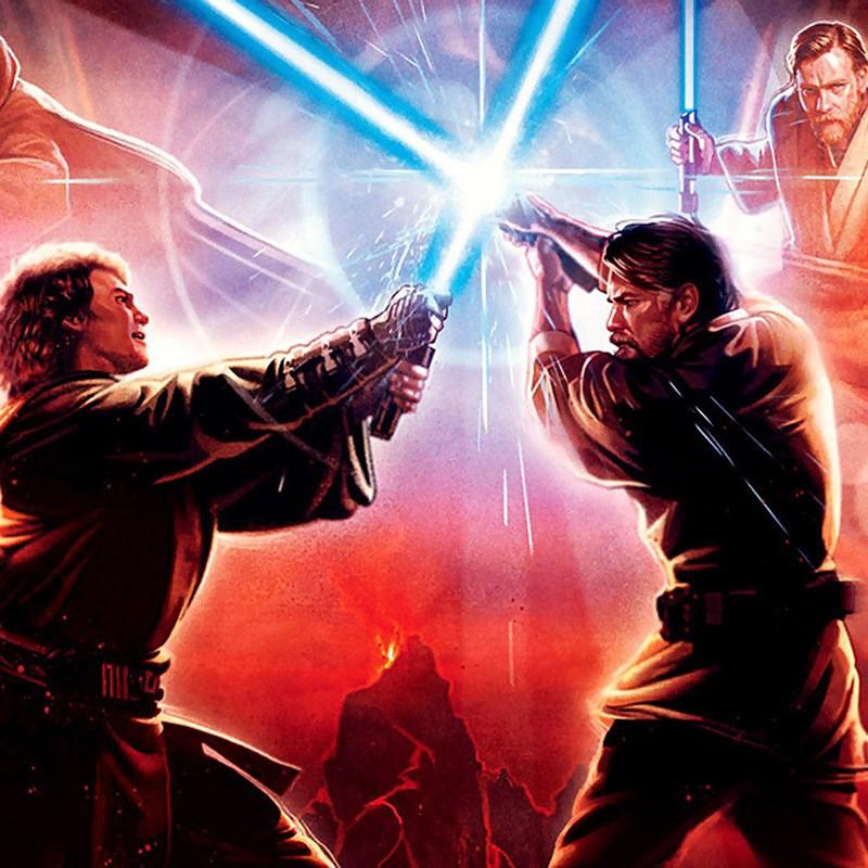 Đồ Chơi Cây Kiếm Ánh Sáng Trong Phim Star War