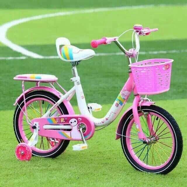 Xe đạp cho bé gái 16 inch 5-