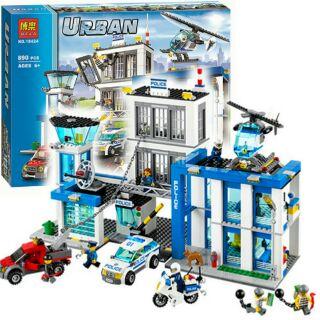 lego urban 10424 – Trụ Sở Cảnh Sát Thành Phố