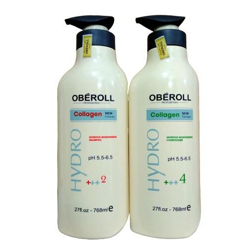 Cặp dầu gội xả OBEROLL Italia 768ml