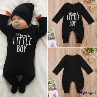 Ged♥New Fashion Baby Boys Long Sleeve Jumpsuit Outfits 0-24 M