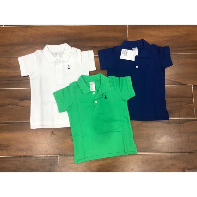 Set 3 áo polo kid ( 6-9m)