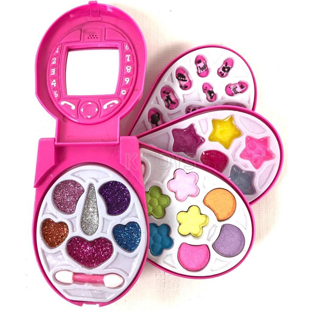 thetoy ของเล่น ชุดเครื่องแต่งหน้ารูปโทรศัพท์ สำหรับเด็ก ของเล่นเด็กhetoy ของเล่น ชุดเครื่องแต่งหน้ารูปโทรศัพท์ สำหรับเด็