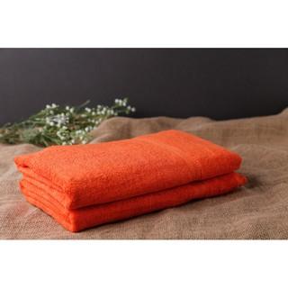 Khăn tắm cao cấp 100% cotton 70x140cm (Cam)