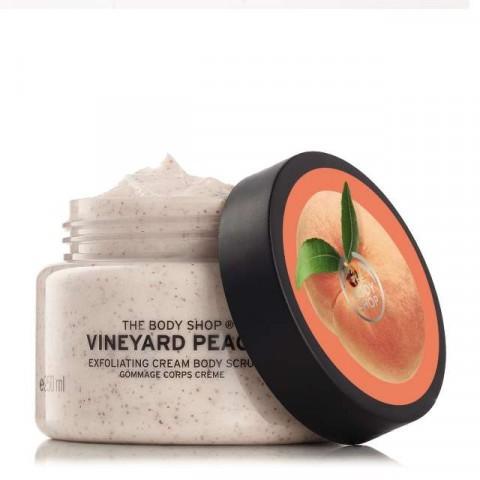 Tẩy tế bào chết The Body shop - VIneyard Peach