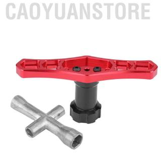 Caoyuanstore 17mm Wheel Nut Sleeve Wrench Tool M2 M2.5 M3 M4 Hex Cross for RC Car / Airplane