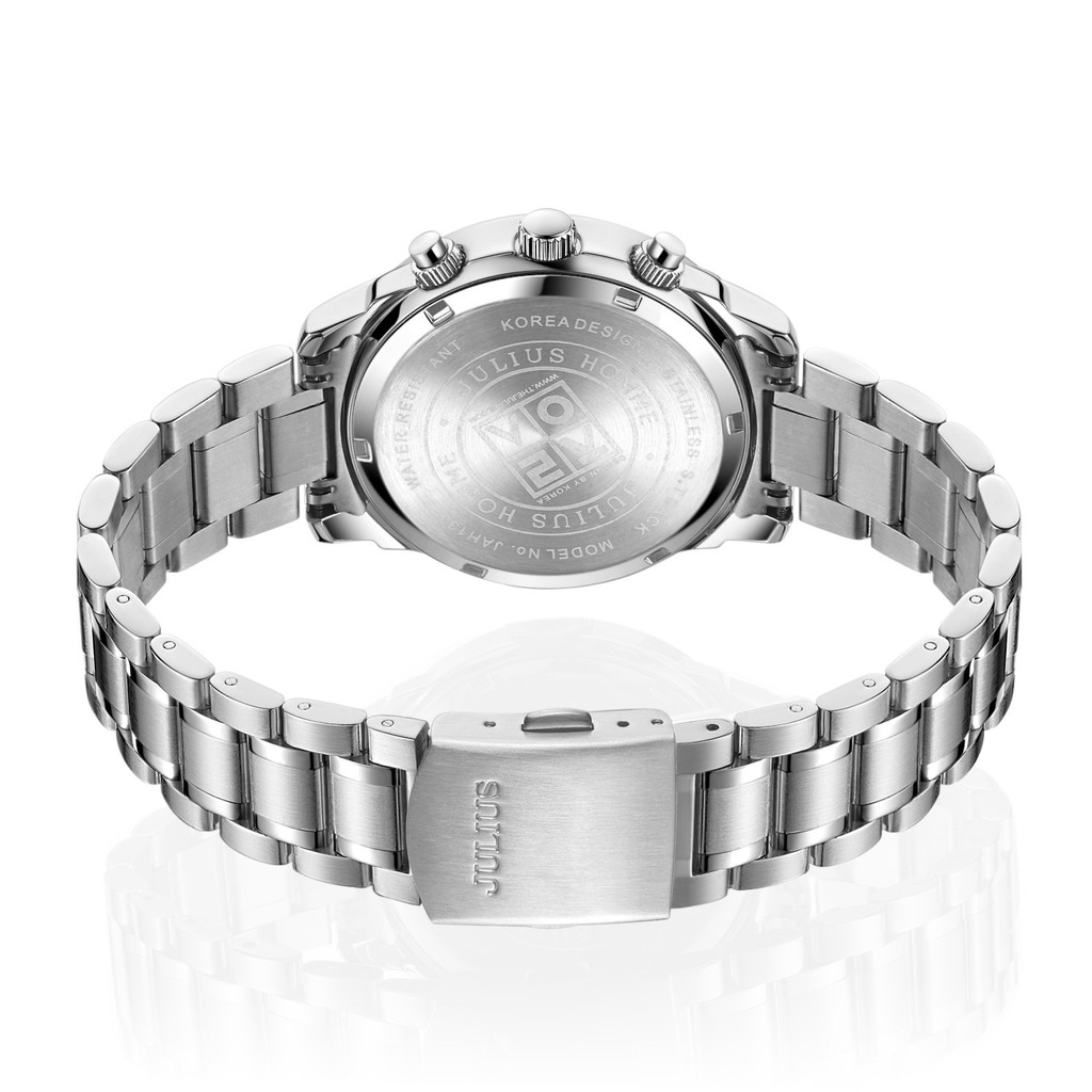 Đồng hồ nam 6 kim Julius JAH-133 dây thép | Julius Official