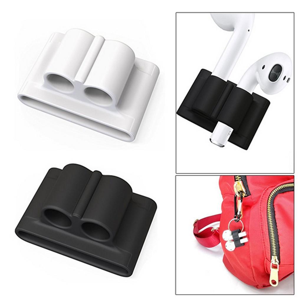 Hộp đựng Mini Silicone cho tai nghe Apple AirPod (ĐEN)