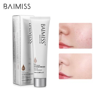 BAIMISS Snail Cleansing Mud Brightens The Skin Nourishes Repairs 120g thumbnail