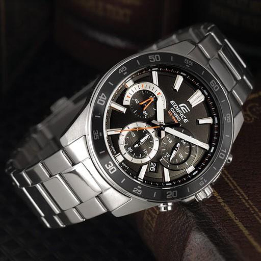 Đồng hồ nam CASIO EDIFICE chính hãng EFV-570D, dây kim loại