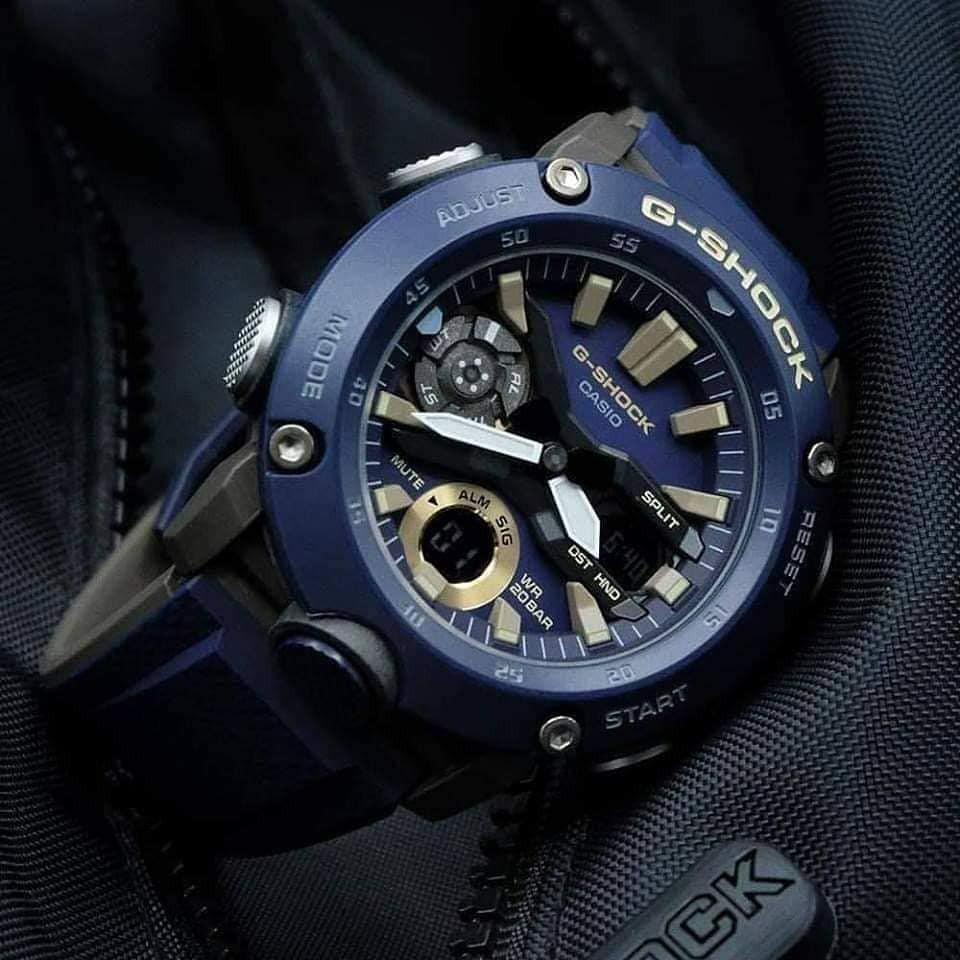 Đồng hồ Nam Dây Nhựa Casio G-Shock GA-2000-2A chính hãng bảo hành 5 năm Pin trọn đời