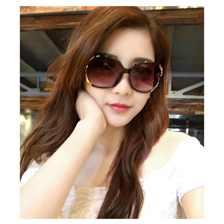 Kính mát nữ thời trang Hàn Quốc đi biển, đi chơi, chống nắng, chống tia UV chống bụi giá rẻ...