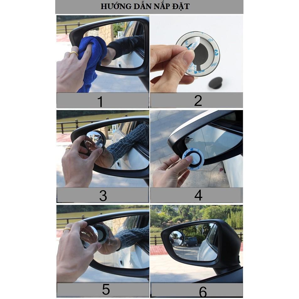 Gương cầu vô cực cho xe hơi 3R