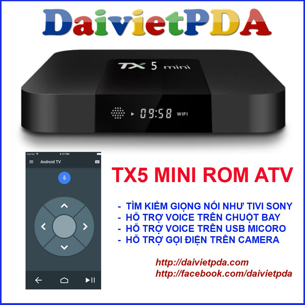 TX5 mini Rom ATV - Android TV Box Amlogic S905W - 2765565 , 858792889 , 322_858792889 , 599000 , TX5-mini-Rom-ATV-Android-TV-Box-Amlogic-S905W-322_858792889 , shopee.vn , TX5 mini Rom ATV - Android TV Box Amlogic S905W
