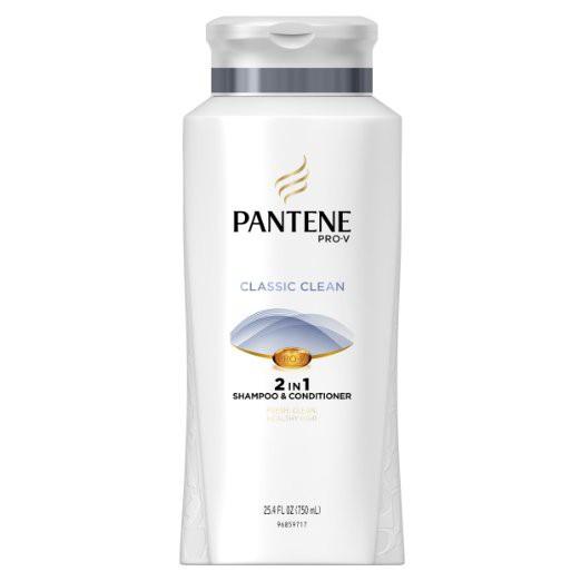 Dầu Gội Và Xả Pantene Clacssic Clean 2in1 750ML (hàng nhập Mỹ)