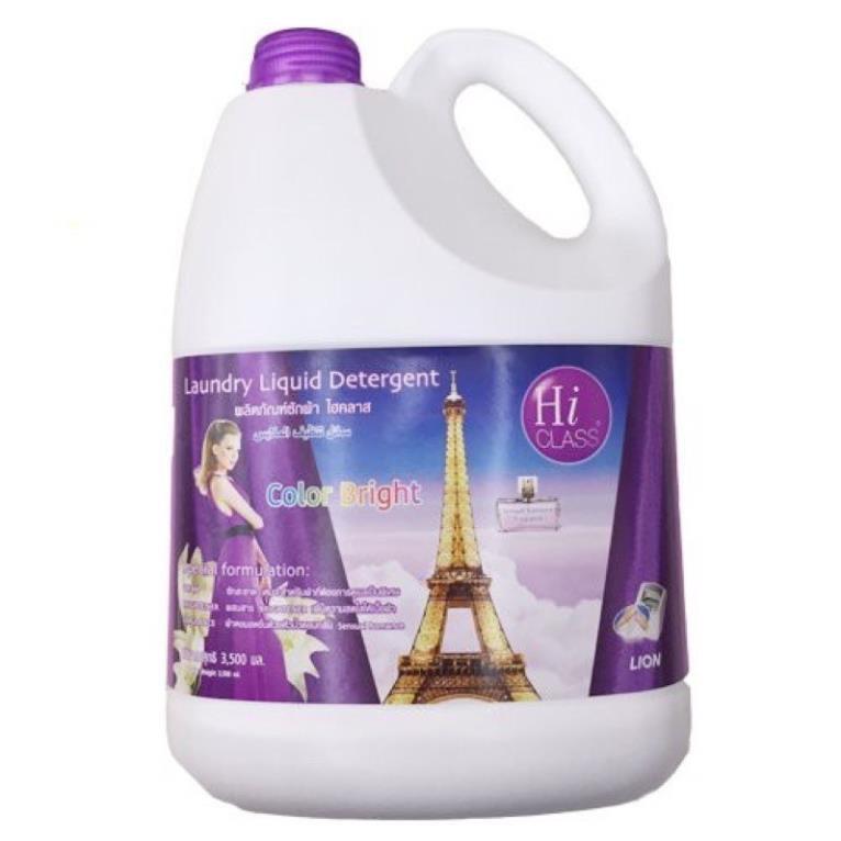 Nước Giặt công nghệ Hiclass 3500 ML màu tím- Thái Lan