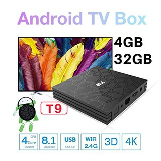 tv box ,android tv box ram 4G bộ nhớ 32G chuyển tv thường thành tv internet