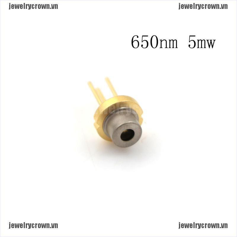 [jewelry] TO-18 5mW 650nm Red Laser Diode Module Laser Generator [crownvn]