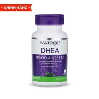 Tăng sinh lý tự nhiên Natrol DHEA 50mg, 60 Tablets thumbnail