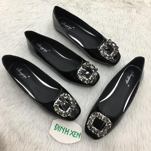 Giày búp bê nơ đá size 41,42,43