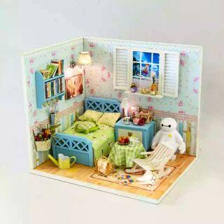 Mô hình nhà gỗ búp bê dollhouse DIY – J003 Baymax