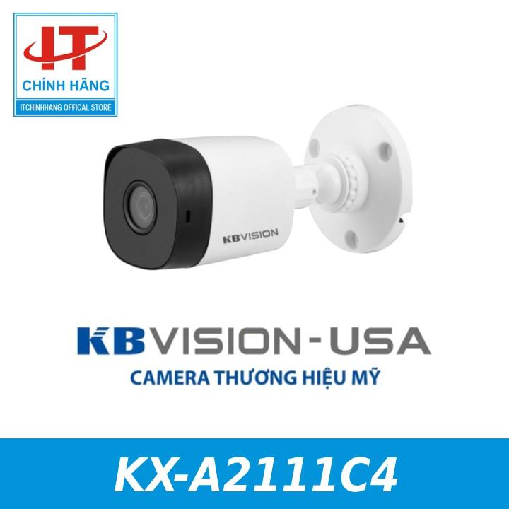 CAMERA 4IN1 2MP KBVISION KX-A2111C4 - Bảo hành 24 tháng KBVISION VIỆT NAM