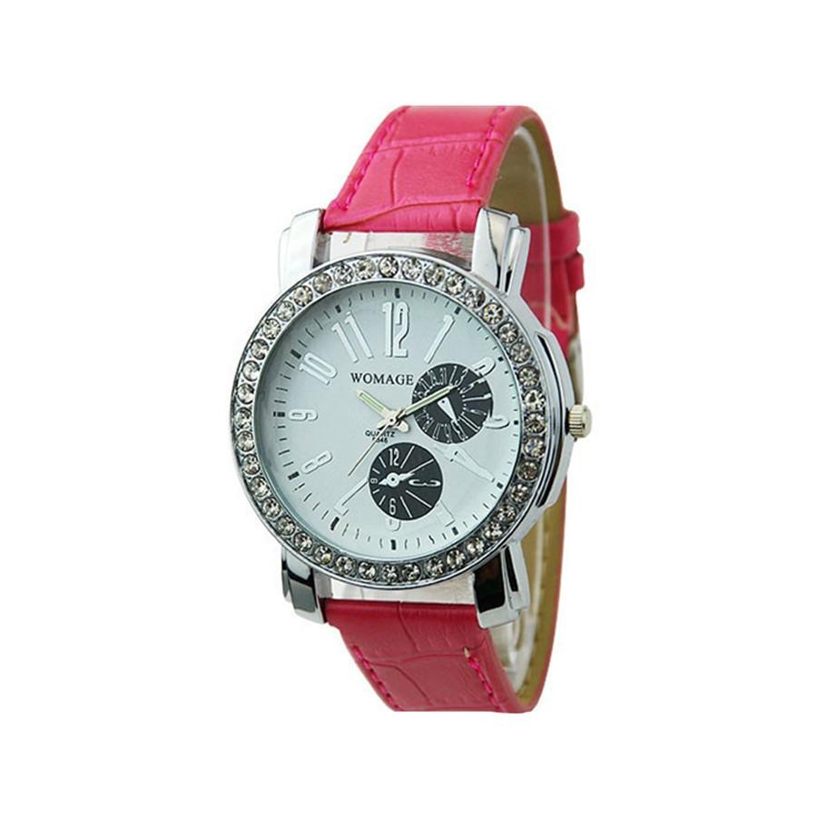 Đồng hồ 2 mặt đính đá lấp lánh dành cho nữ