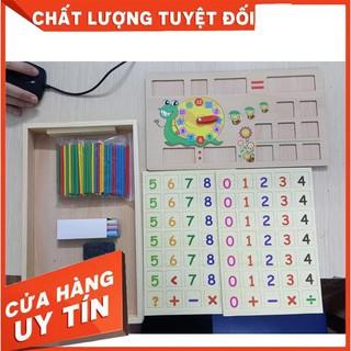[HÀNG LOẠI 1] Bảng gỗ toán học thông minh phát triển trí tuệ cho bé [ SP039331]
