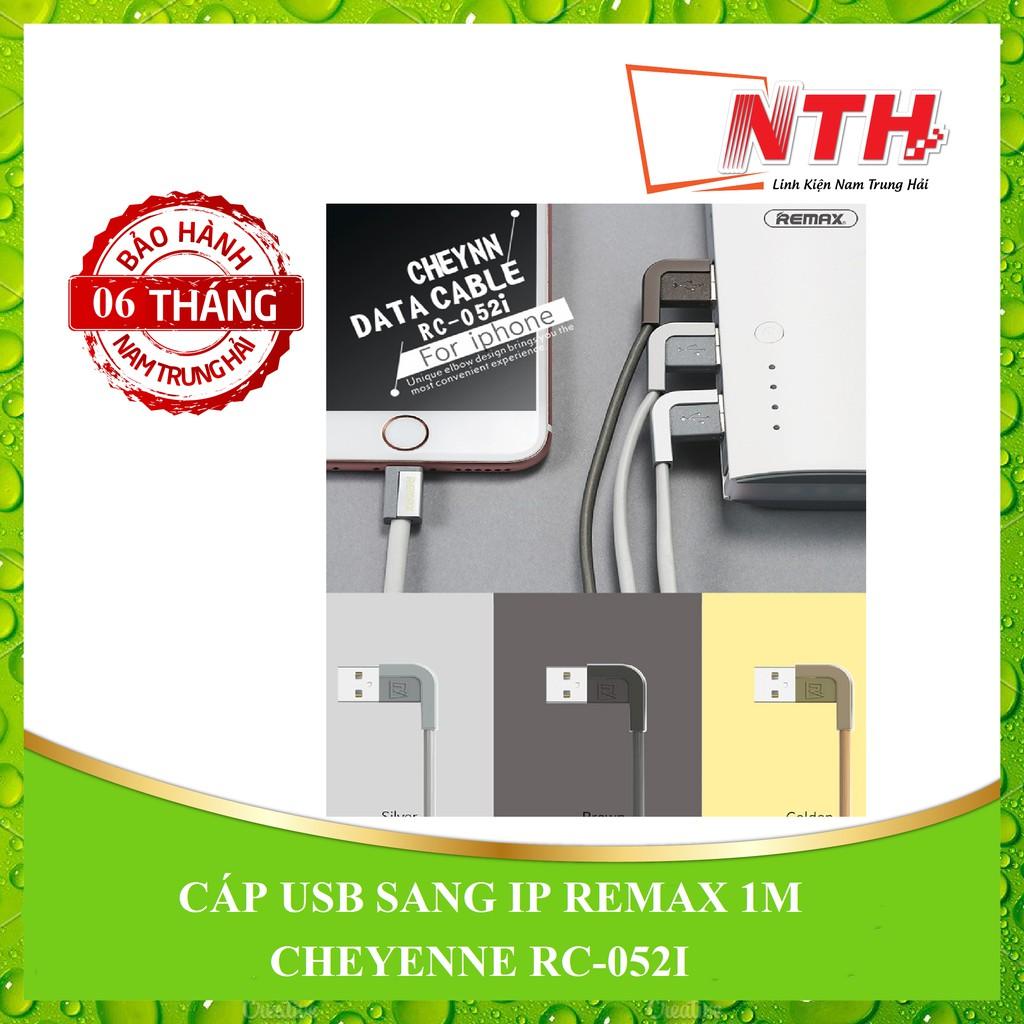 [NTH] CÁP USB SANG IP REMAX 1M CHEYENNE RC-052I