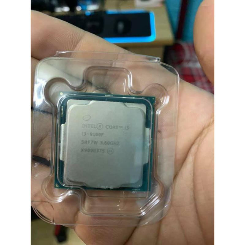 CPU i3 9100f Tray