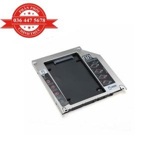 Caddy Bay SATA gắn thêm ổ cứng cho Laptop hợp kim nhôm tỏa nhiệt tốt thumbnail