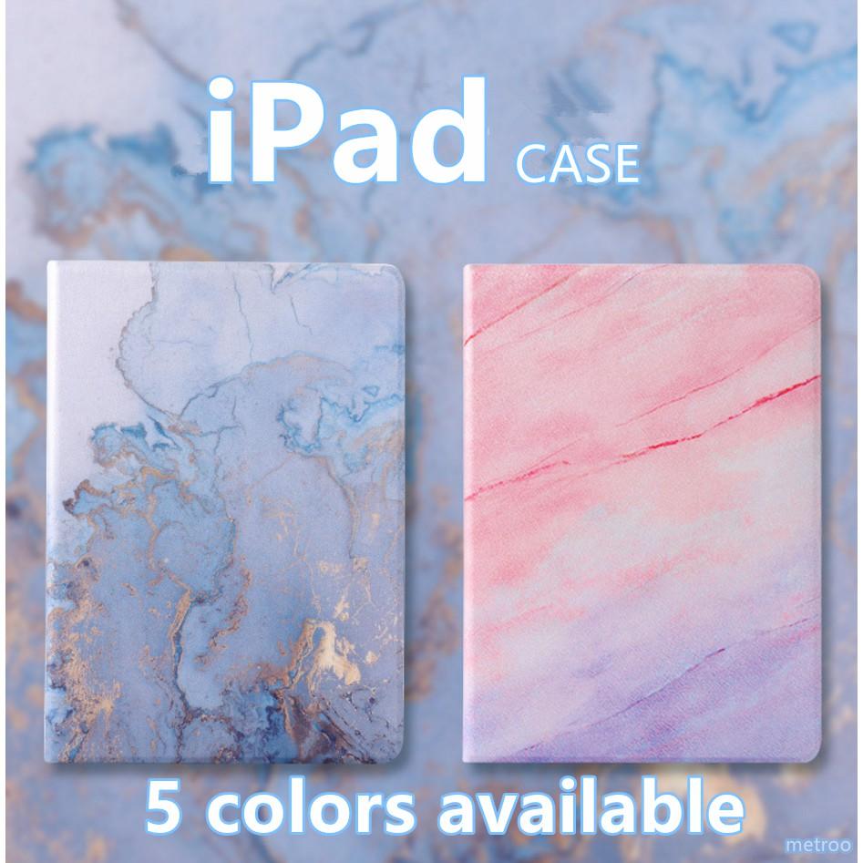 Bao da máy tính bảng vân gạch men dành cho Air2 iPad 2017 2018 Smart Ipad Mini 2 3 4 Ipad