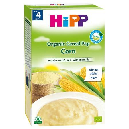 Bột Hipp ăn dặm Ngũ cốc , Bắp non 4m 200g ( Không sữa )