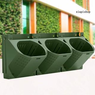Đồ dùng làm vườn Outdoor Wall Mounted Three-dimensional Greening Plant Flower Pot Container Box