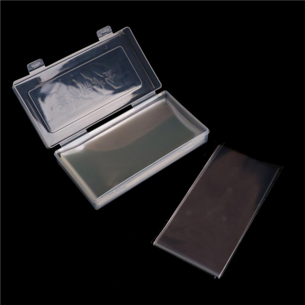 Yescont 100Pcs Paper Money Album Currency Banknote Case Storage Collection With Box Gift .