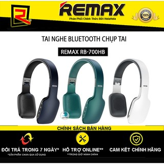 Tai nghe Bluetooth Chụp Tai Remax RB-700HB (Trắng,đen,xanh)