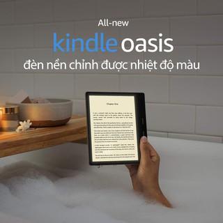 Máy đọc sách Kindle Oasis 3 8G 10th 2020 chính hãng Amazon thế hệ mới nhất (NEW nguyên SEAL)