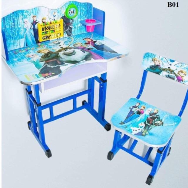 Bộ bàn ghế học sinh tiểu hoc Elsa - 9939479 , 407225972 , 322_407225972 , 495000 , Bo-ban-ghe-hoc-sinh-tieu-hoc-Elsa-322_407225972 , shopee.vn , Bộ bàn ghế học sinh tiểu hoc Elsa